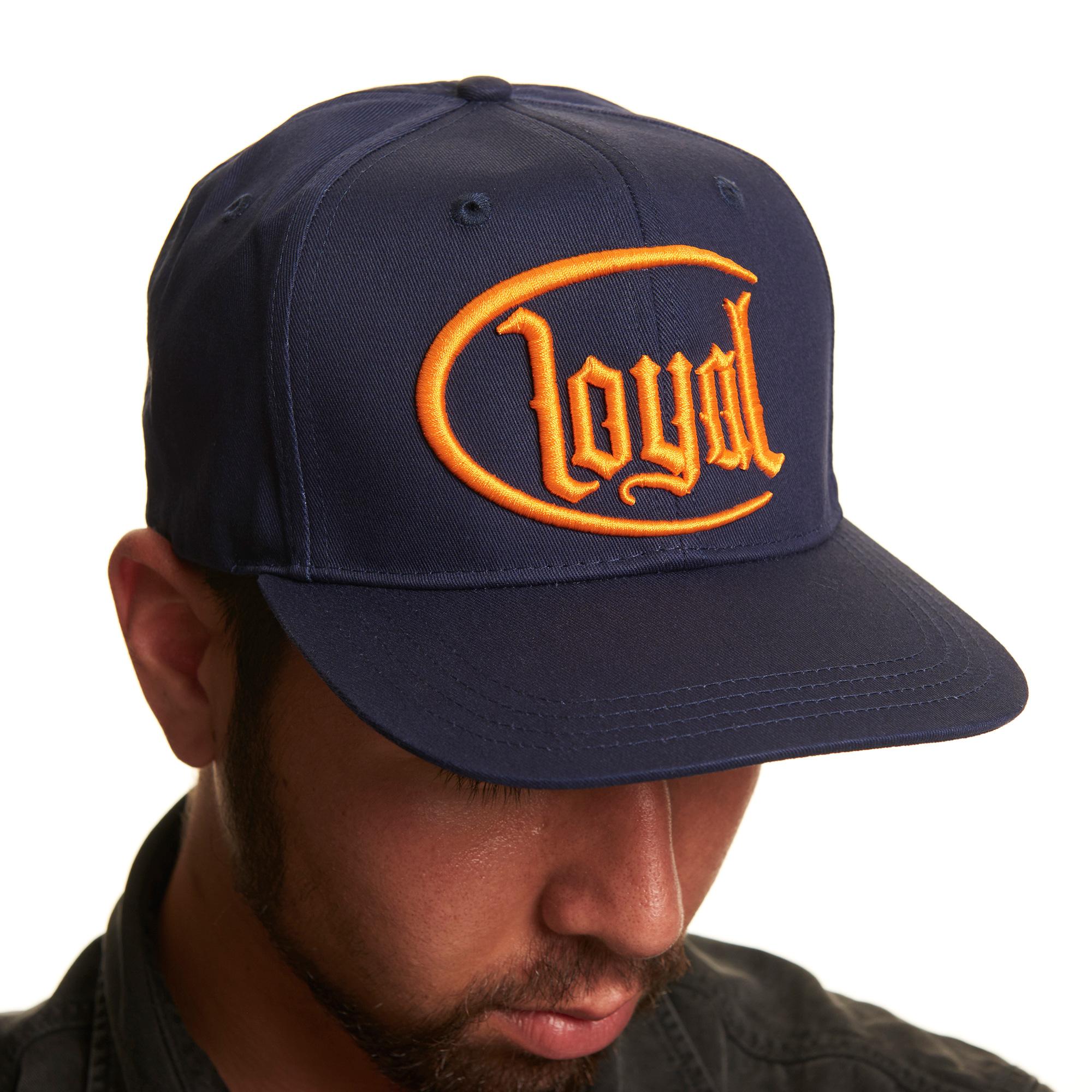 Loyal Circle Gold von Kontra K - Snap Back Cap jetzt im Loyal Shop