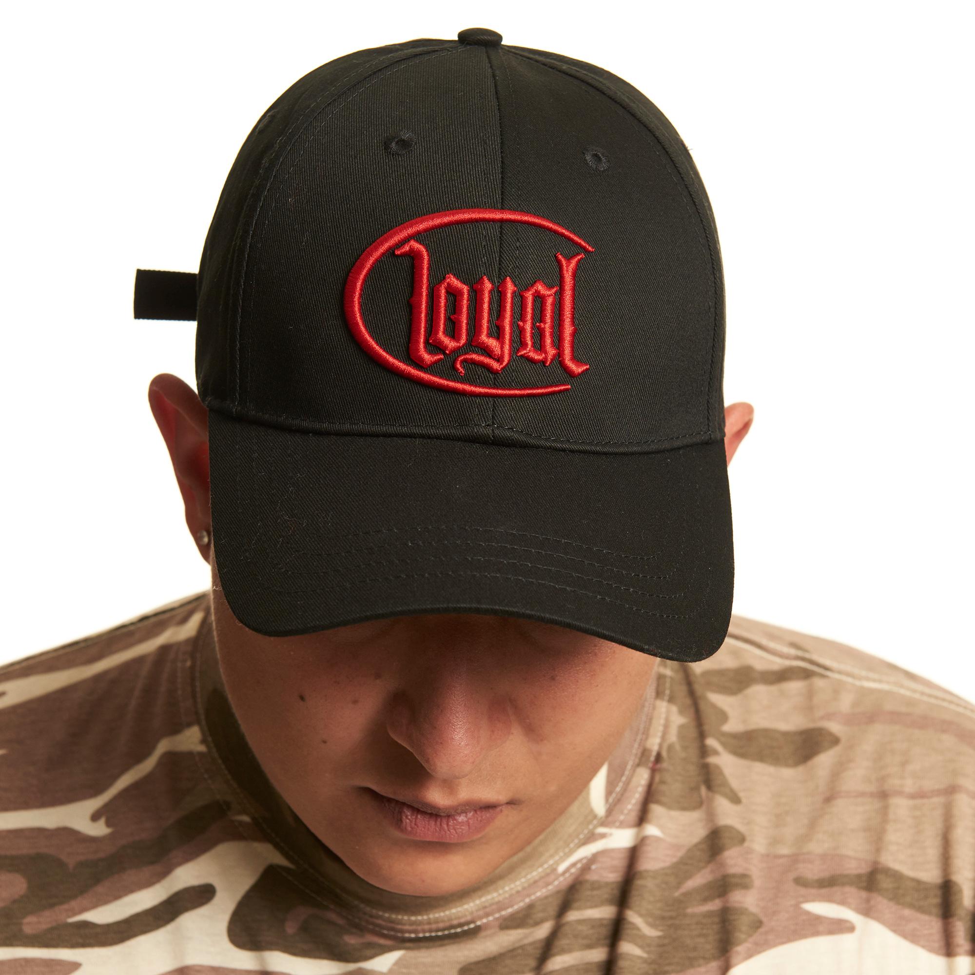 Loyal Circle Red von Kontra K - Baseball Cap jetzt im Loyal Shop
