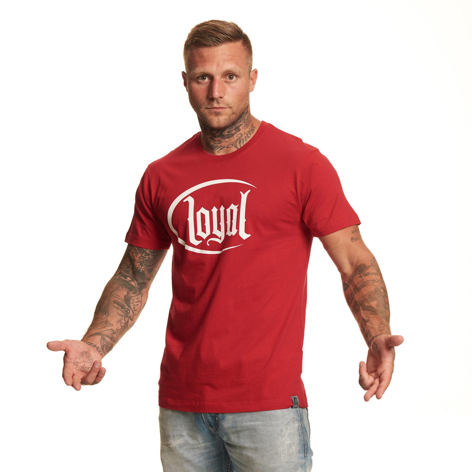 Loyal Circle White von Kontra K - T-Shirt jetzt im Loyal Shop