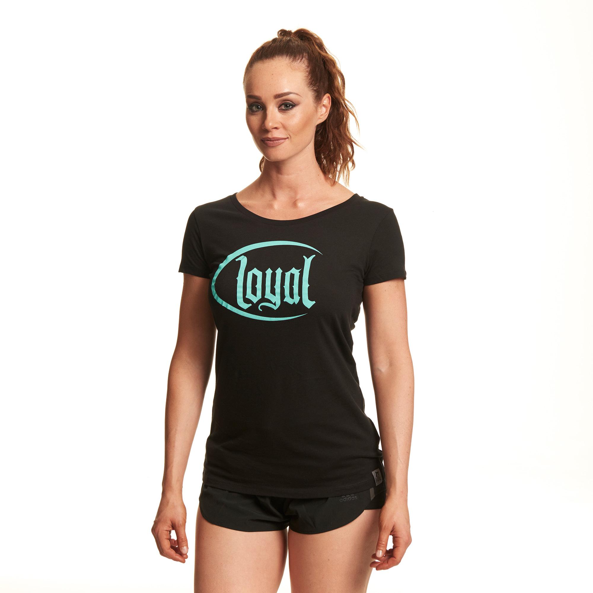 Loyal Circle Mint von Kontra K - Girlie Shirt jetzt im Loyal Shop