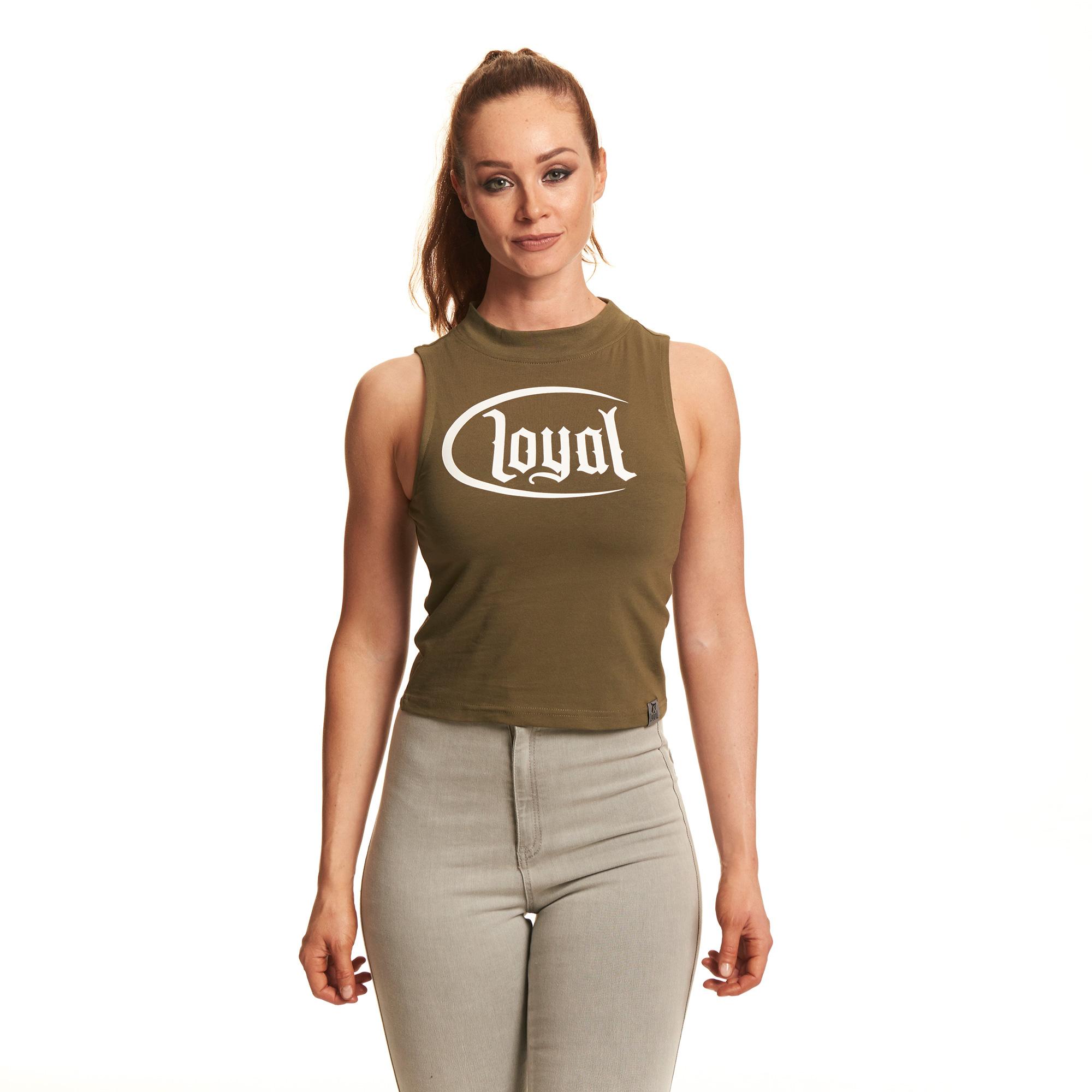 Loyal Circle White von Kontra K - Crop Top jetzt im Loyal Shop
