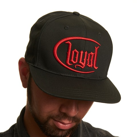 √Loyal Circle Red von Kontra K - Snap Back Cap jetzt im Loyal Shop