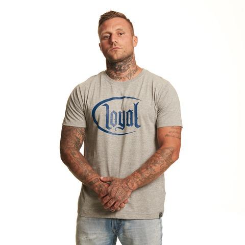Loyal Circle Navy von Kontra K - T-Shirt jetzt im Loyal Shop