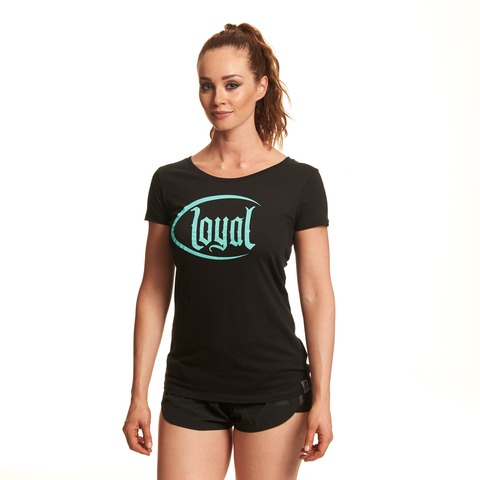 √Loyal Circle Mint von Kontra K - Girlie Shirt jetzt im Loyal Shop