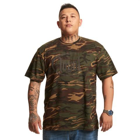 3D Camo Logo von Kontra K - T-Shirt jetzt im Loyal Shop