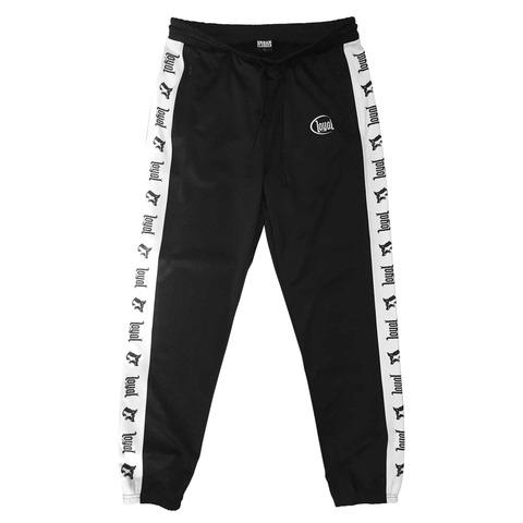 Black Track von Kontra K - Track Pants jetzt im Loyal Shop
