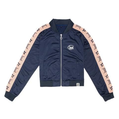 Blue Track von Kontra K - Girl Trainingsjacke mit Zipper jetzt im Loyal Shop